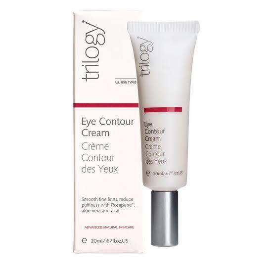 Trilogy All Skin Types Hydrating Powerfully Natural Smooth Nourishing Fragrance Free Rejuvenating Moisturizing Recyclable Eye Contour Cream