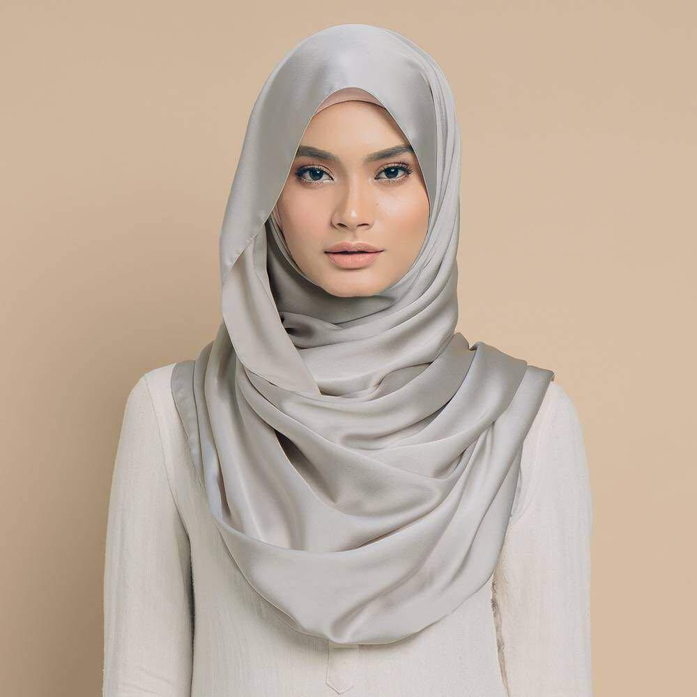 [YES Sale Tudungpeople ] Tudung people Maysaa Shawl - Minerva Silver