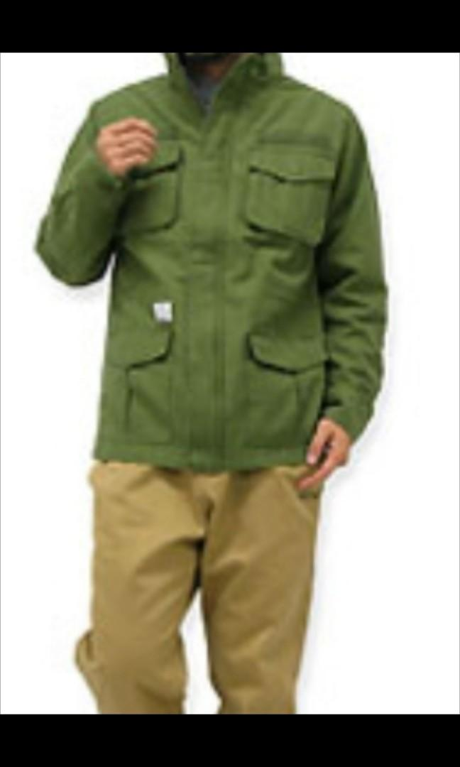 UNDEFEATED combat M65 Zip Thru army jacket 男装軍褸