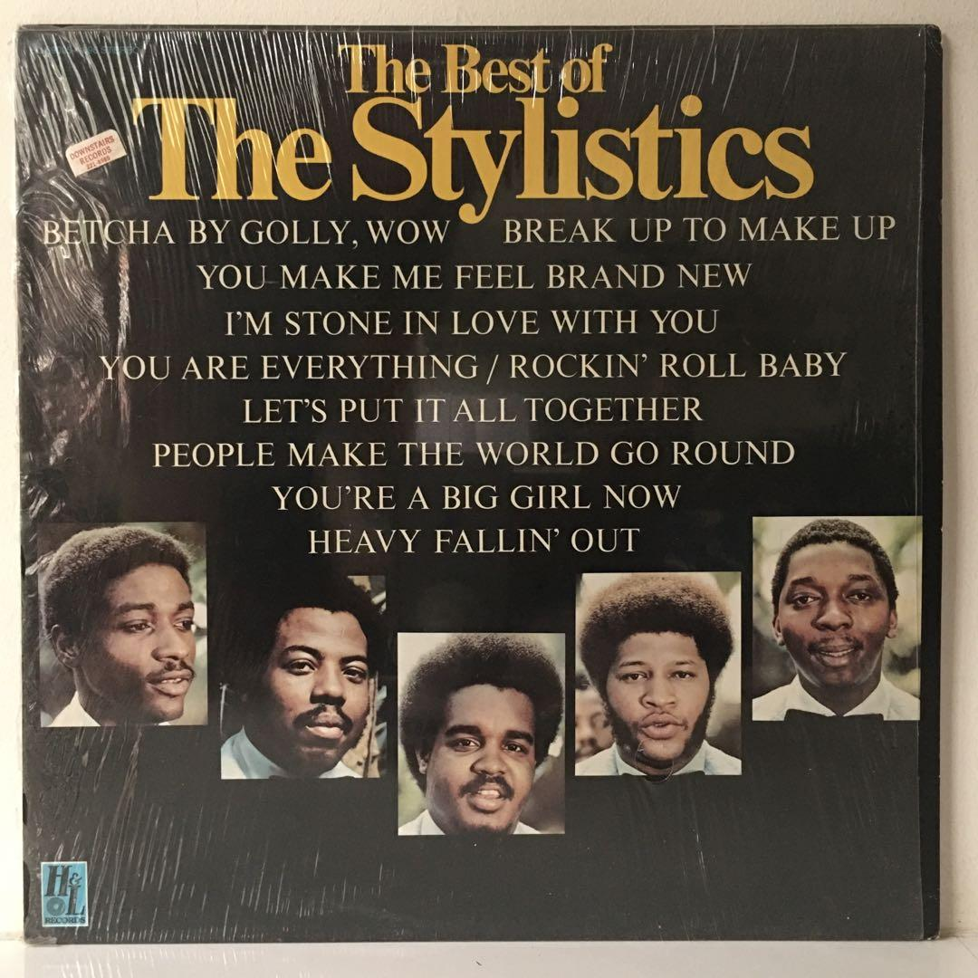 The Stylistics ‎– The Best Of The Stylistics (1975 US Original - Vinyl is Excellent)