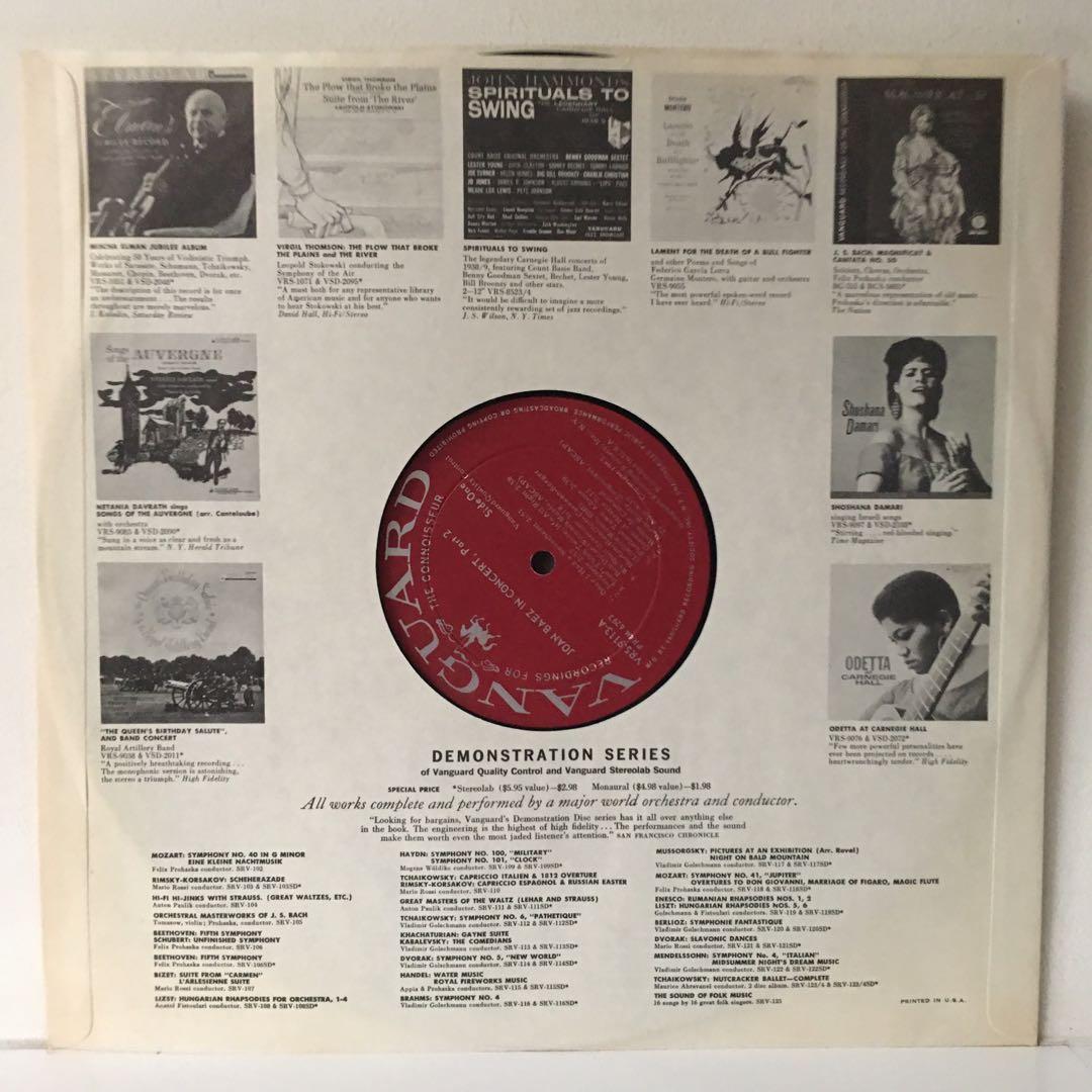 Joan Baez – In Concert (1963 US Original - Vinyl is Very Good)