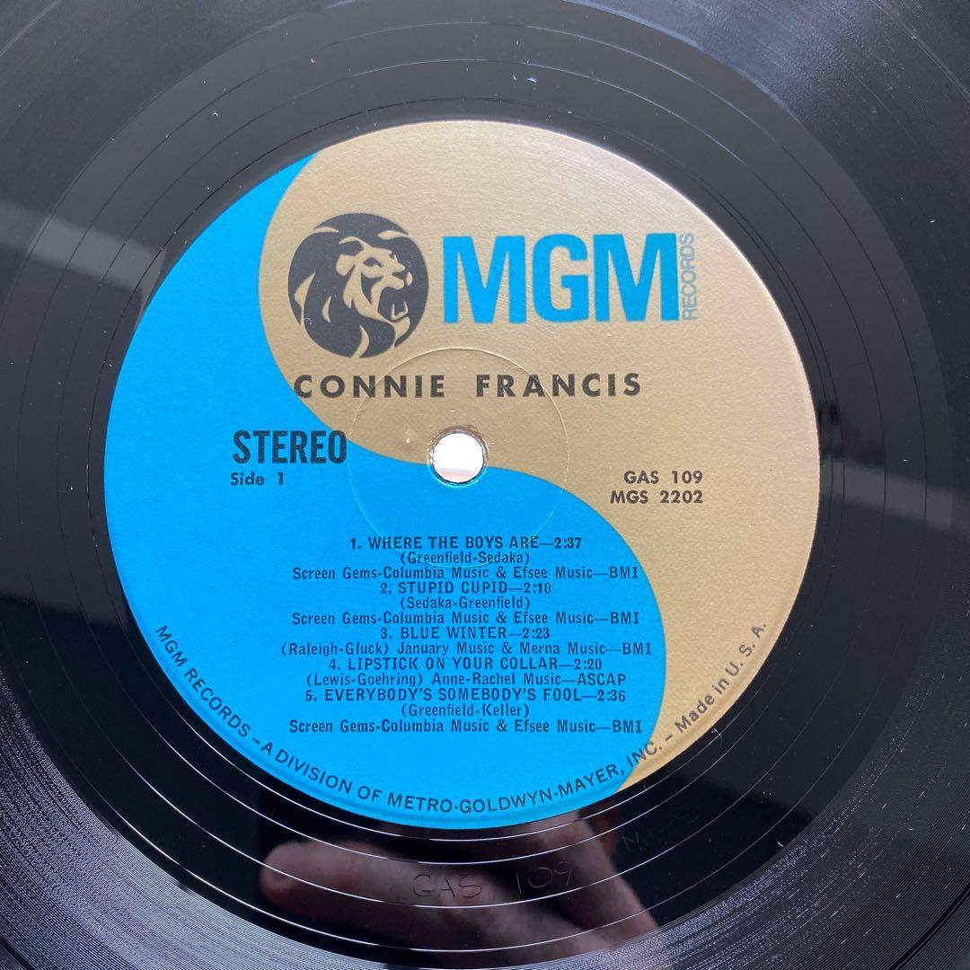 Connie Francis – Connie Francis (1970s US Pressing - Vinyl is Excellent)