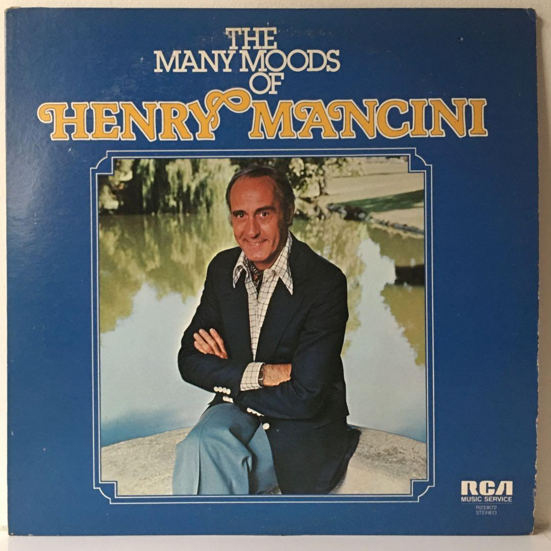 Henry Mancini – The Many Moods Of Henry Mancini (1977 US 2LP Pressing - Vinyl is Excellent)