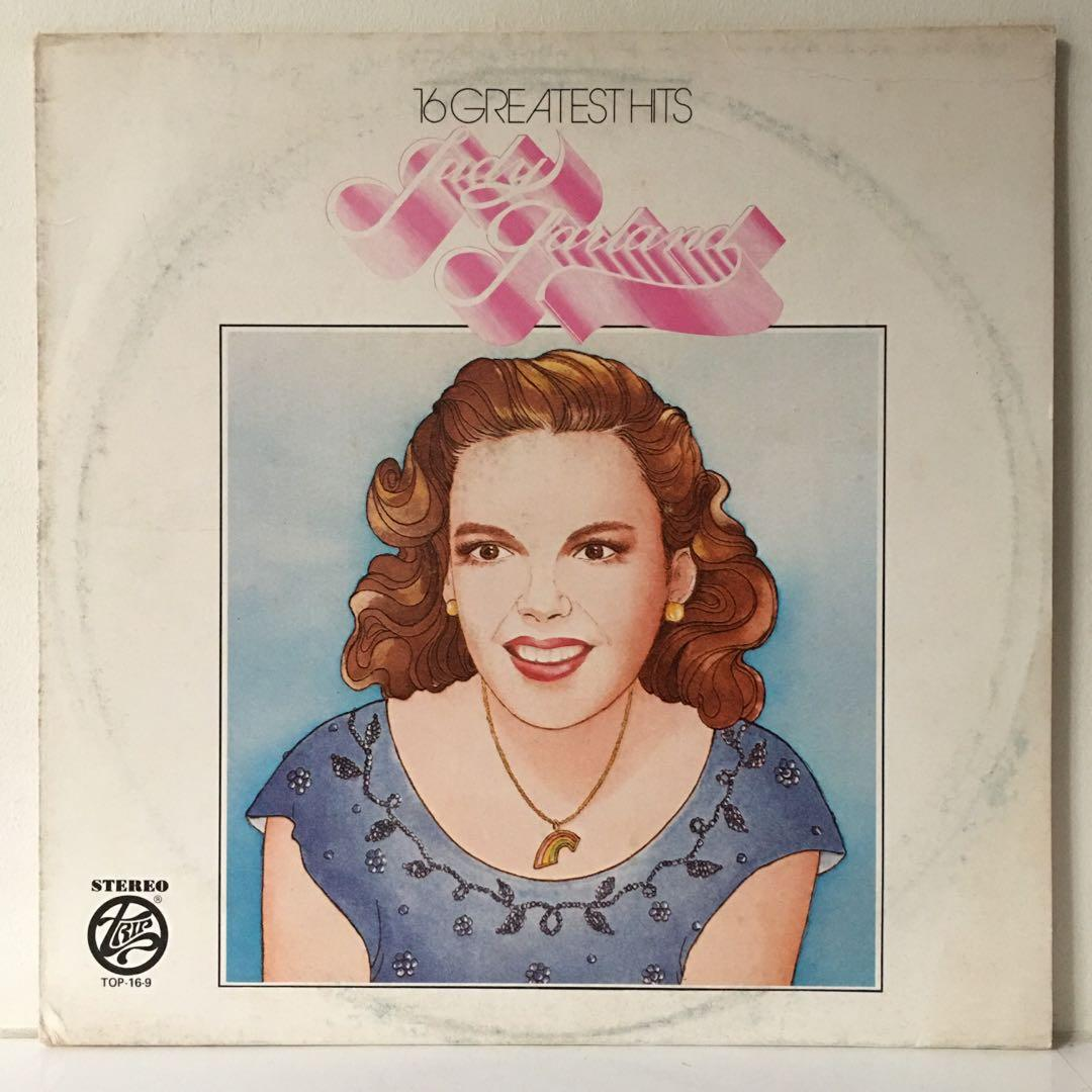 Judy Garland – 16 Greatest Hits Of Judy Garland (1970s US Pressing - Vinyl Record in Excellent Condition)