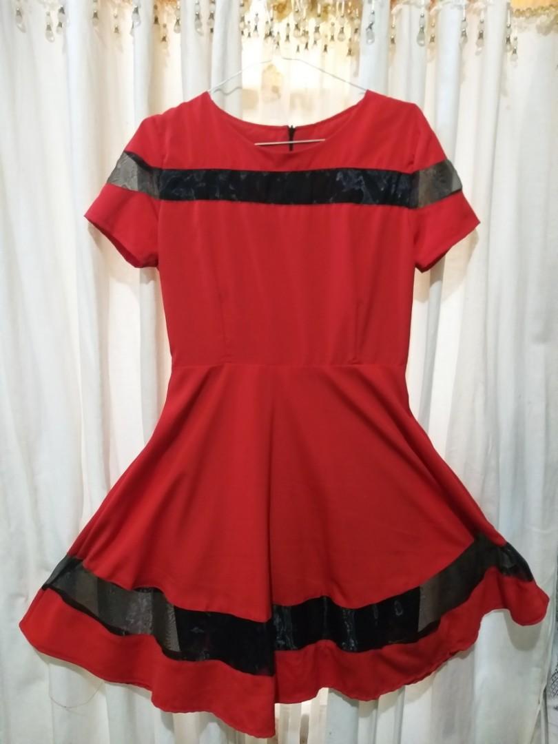 Woman Dress (Red)