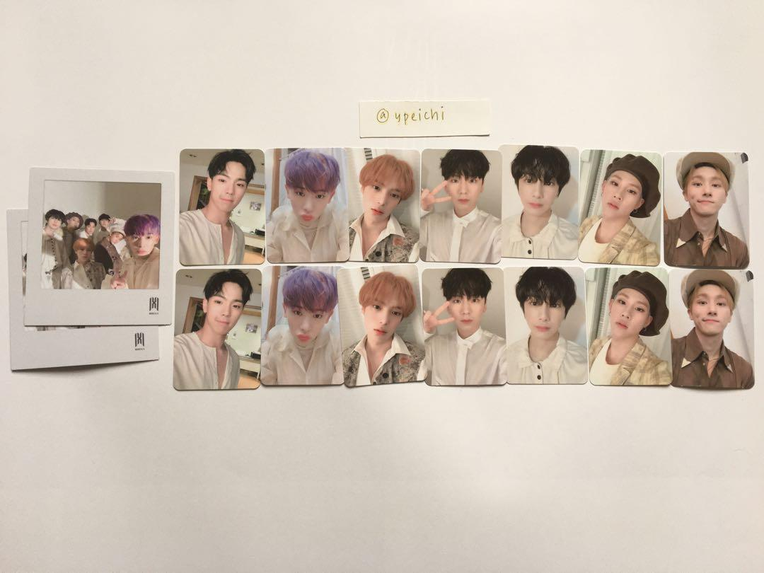 [WTS] Monsta X Follow: Find You Starship Square pre order benefit pc