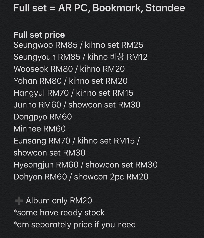 WTS/ PREORDER X1 1ST Mini Album Quantum Leap & 비상 OFFICIAL AR BOOKMARK STANDEE/ KIHNO/SHOWCON