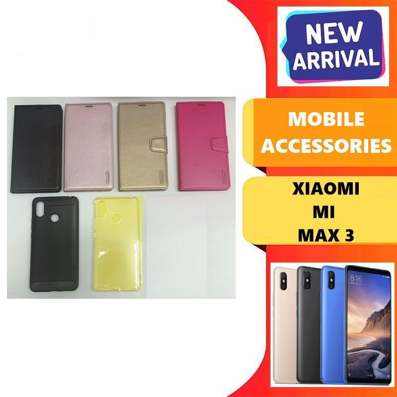 Xiaomi Mi Max 3 Mobile Accessories  ( From $8 onwards)