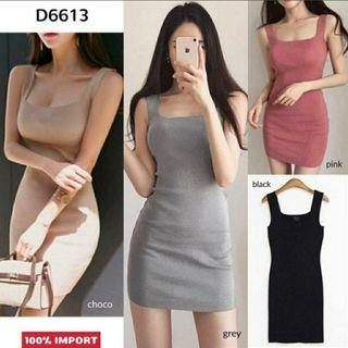 Ec Dress Olivia Rajut l atasan fashion baju dress rajut wanita
