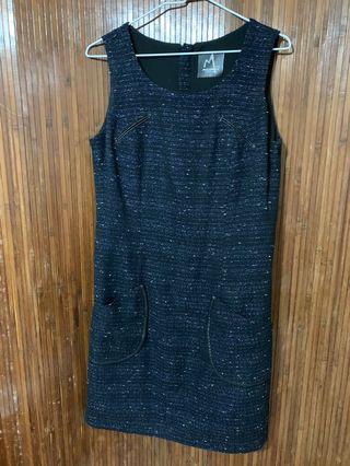 無袖冬季洋裝 許明美 適合L號 全長92