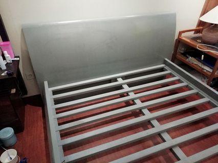 MURAH AJA, Tempat Tidur Informa - 160x200 Rangka Kayu Solid