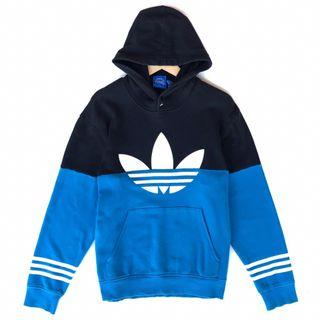 Hoodie Adidas Hitam Biru