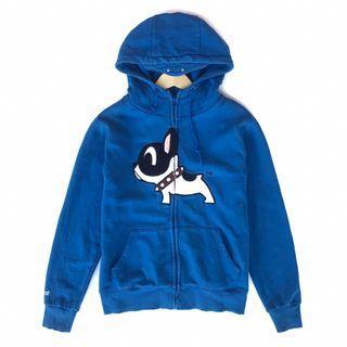 Zip Hoodie Pancoat biru