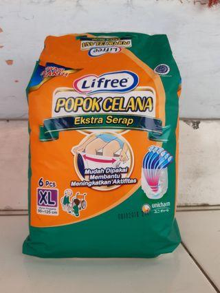 Pampers Lifree