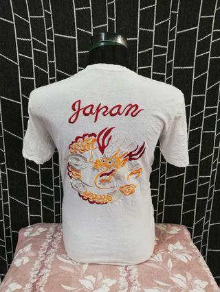 sukajan embroidery dragon design
