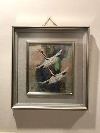 Picture Frame #1 - 2 Birds Flying