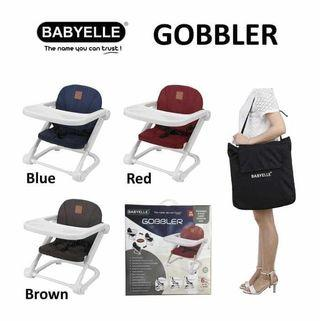 New - Babyelle Gobbler Foldable & Easy Carry Booster Seat in Brown #1111Special