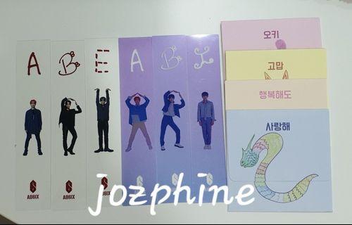 AB6IX 6IXENSE Bookmark & Envelope
