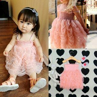 Girls Dress Ruffle Tutu