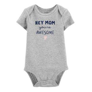 New - Carter's Mom You're Awesome Bodysuit - size 18m