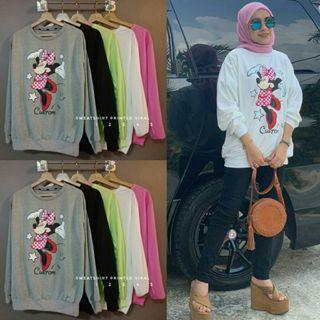 Sweatshirt Minnie Printed Viral