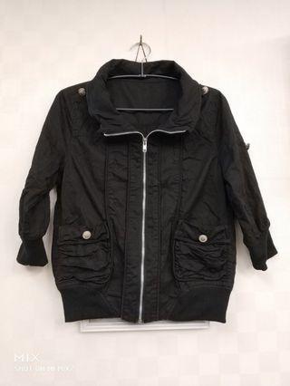 降~降,修身薄外套,黑色,把握11/11-11/18運費39元,只要結帳時輸入CAROUHAND