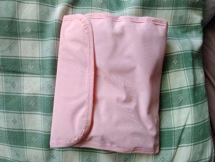 全新粉紅色收納包