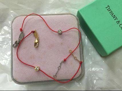 單顆美鑽石💎手鍊66元全新