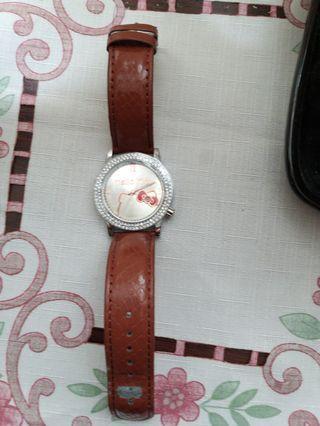 全新sanio 三麗鷗kitty手錶
