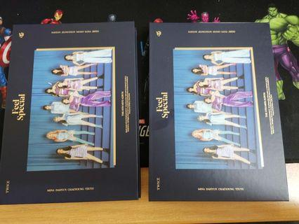 TWICE FEEL SPECIAL UNSEALED ALBUM