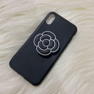 Softcase Chanel Logo Iphone X / XS