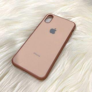 Rosegold Case Iphone X / XS