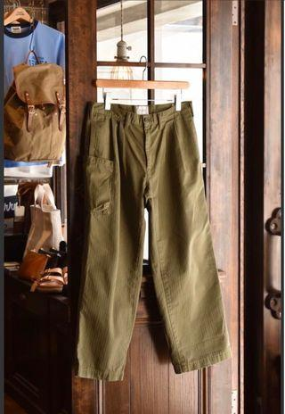 cal o line 2 TUCK ARMY TROUSERS