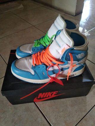 Nike air jordan 1 x off white pk