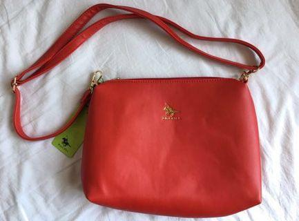 (Brand New) Polo Hill Sling Bag PHH2620 (red)