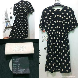 H&M polkadot dress original