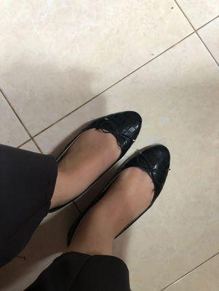 HnM Croco Flat Shoes