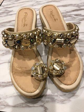 楔形涼鞋24.5