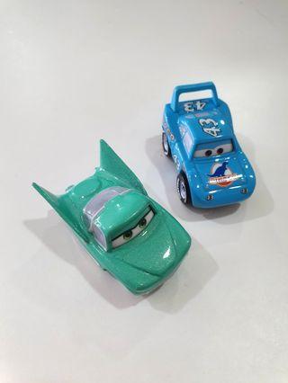 Flo & King Combo - Disney Cars Mini Racers