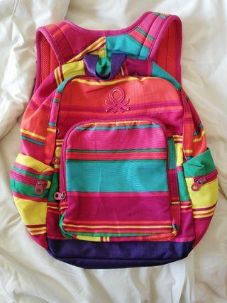 United colors of benetton stripe backpack #1111