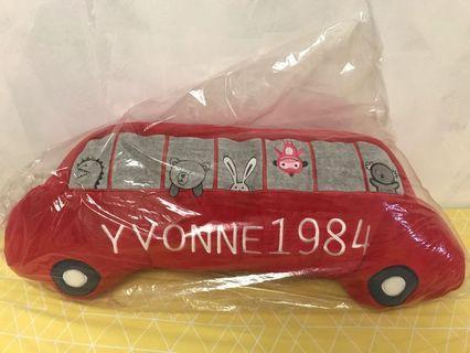 YVONNE1984紅色汽車🚗抱枕 懷孕 月亮枕