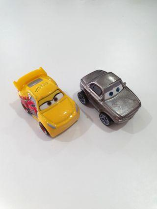 Rust-eze Cruz & Metallic Sterling - Mini Racers