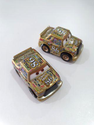 Gold Chick Hicks - Disney Cars Mini Racers