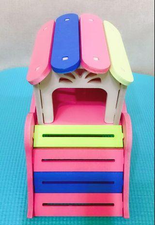 繽紛大象 倉鼠小房子