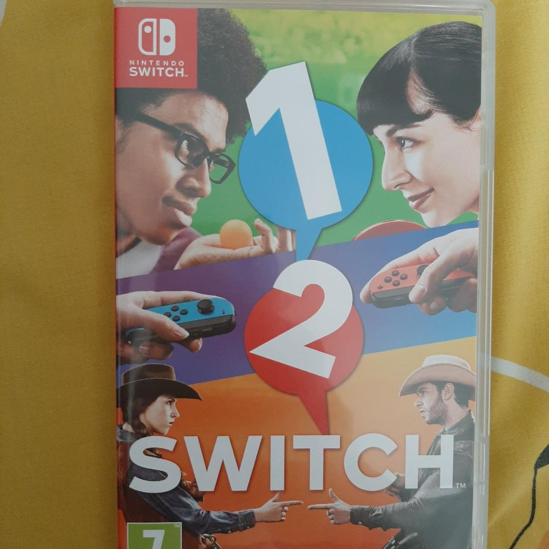 1 - 2 Switch Games
