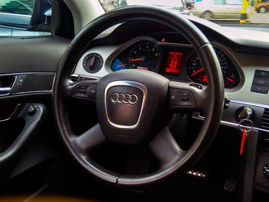 2007年10月出廠 僅跑8萬公里 AUDI A6 新車價200多萬進口豪華房車  #現在國產價格即可入主