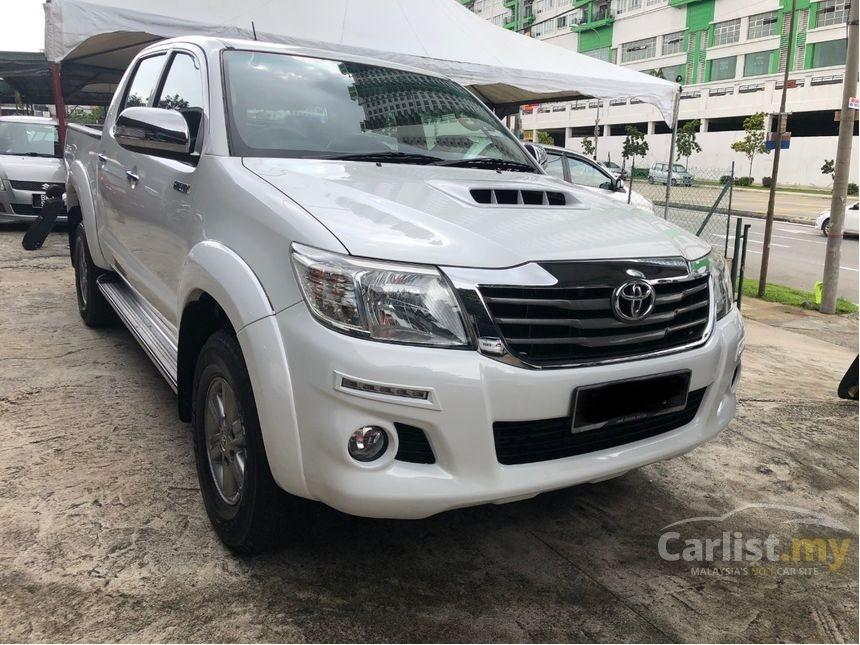2015 Toyota Hilux 2.5 G VNT (A) One Owner Full Toyota Service Leather Seat          http://wasap.my/601110315793/HiluxVNT2015
