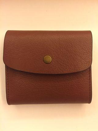 Fossil Short Compact Leather Wallet