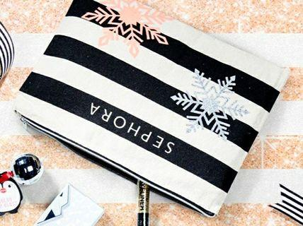 Sephora Holiday 2019 Makeup Pouch