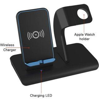 iWatch Stand Charging Docks & iPhone X Wireless Charger Stand